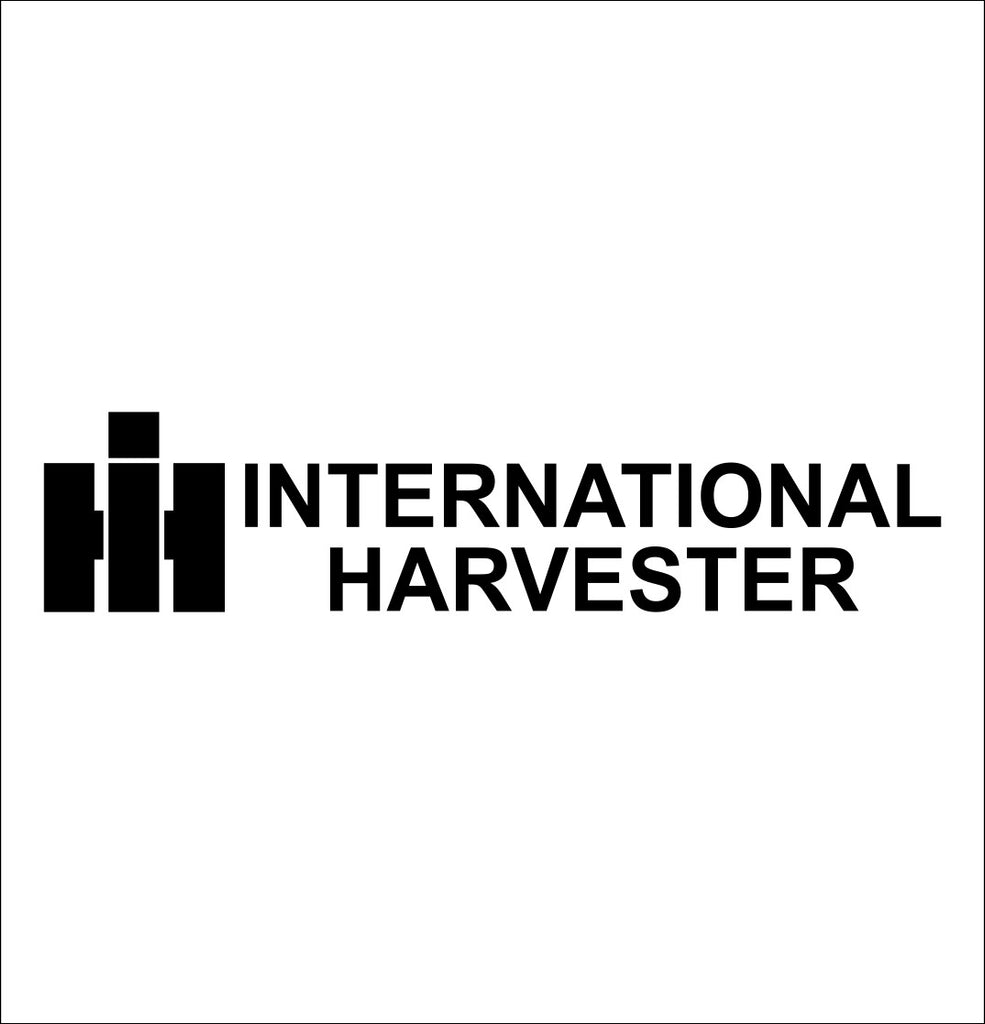 International Harvester decal, farm decal, car decal sticker