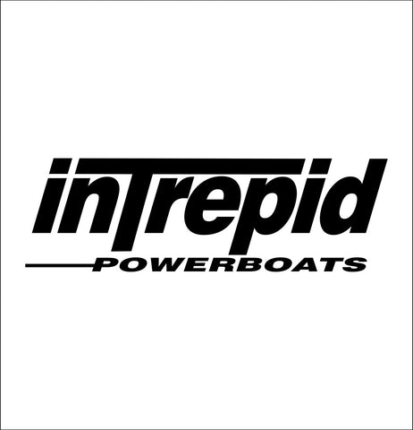 Intrepid Boats decal, sticker, hunting fishing decal