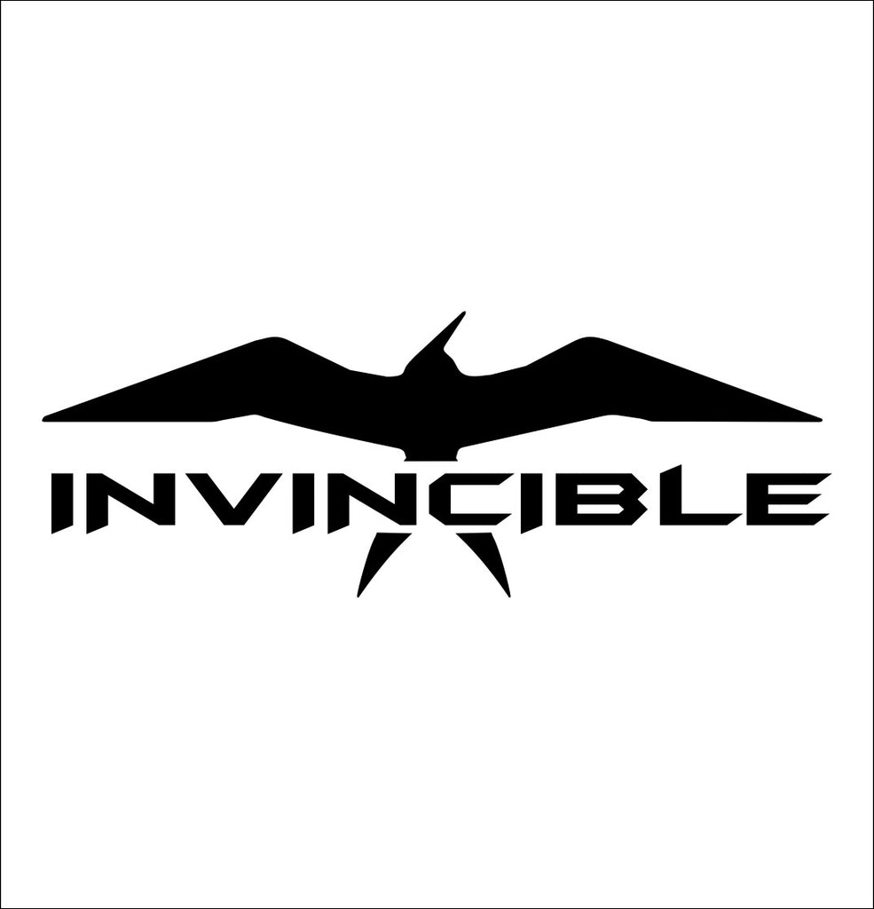 Invincible Boats decal, sticker, hunting fishing decal