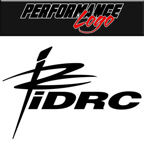 IDRC decal performance decal sticker