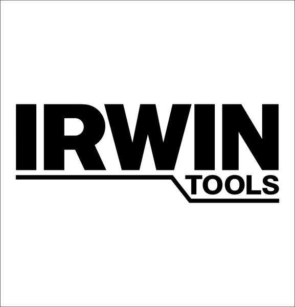 irwin tools decal, car decal sticker