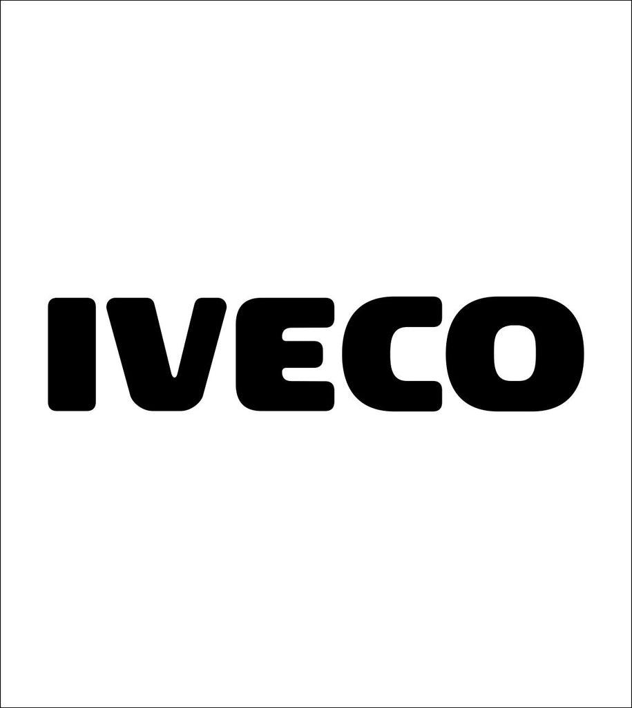 Iveco decal, sticker, car decal