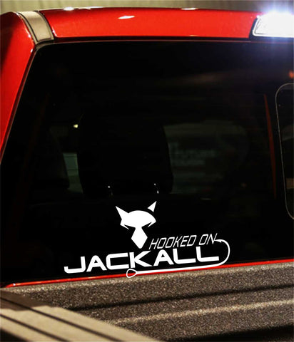 jackall lures decal, car decal, fishing sticker