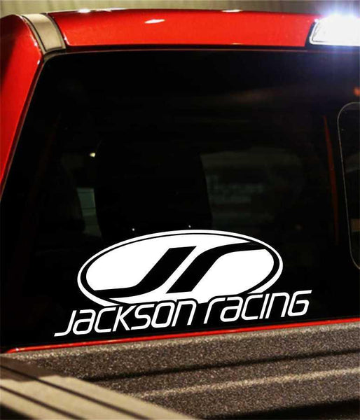jackson racing performance logo decal - North 49 Decals