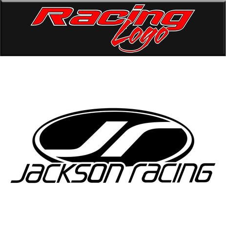 jackson racing decal racing decal sticker