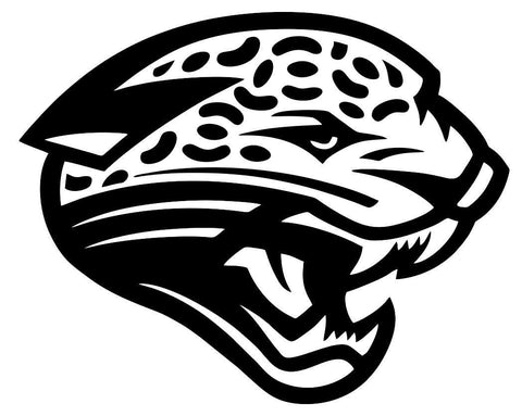 jacksonville jaguars car window decal