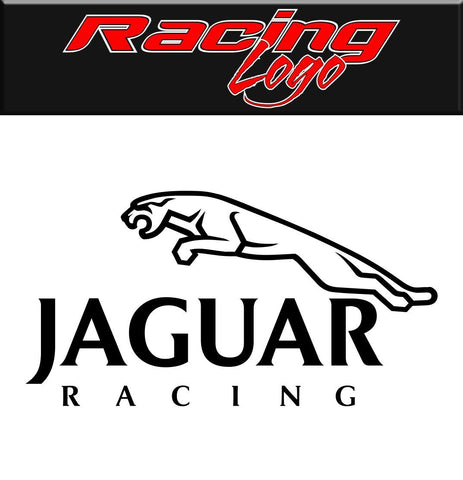 Jaguar Racing decal, racing sticker