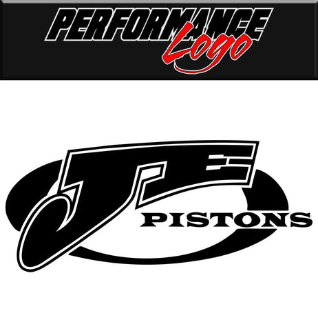 JE Pistons decal, performance decal, sticker