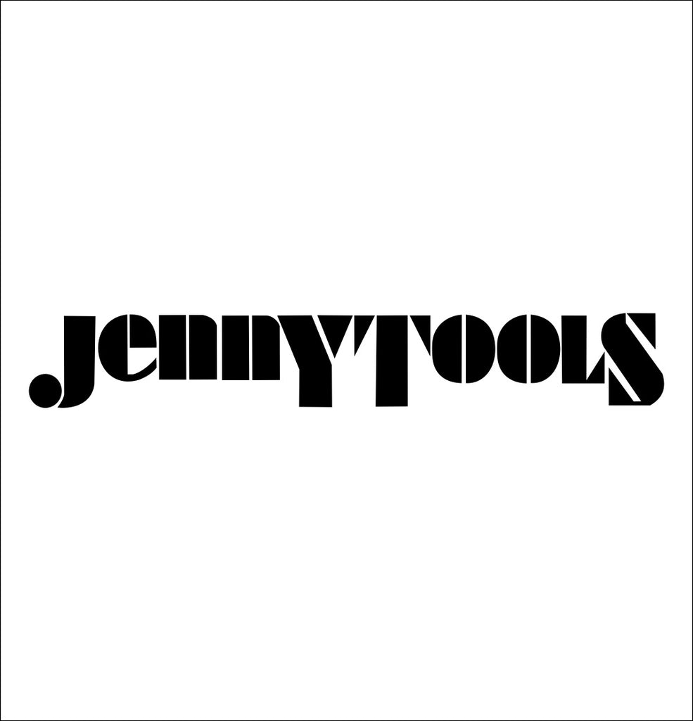 jenny tools decal, car decal sticker