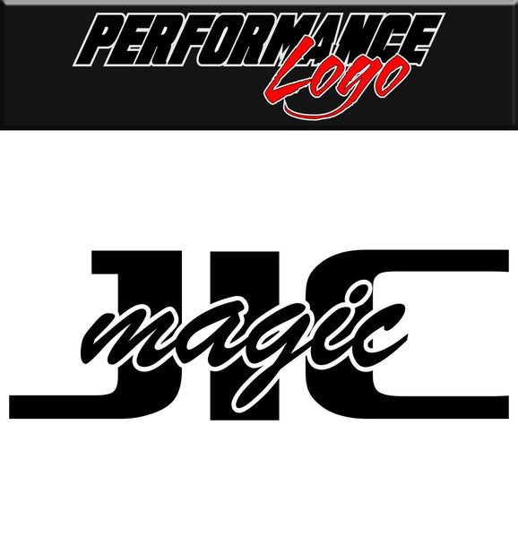 JIC Magic decal, performance decal, sticker