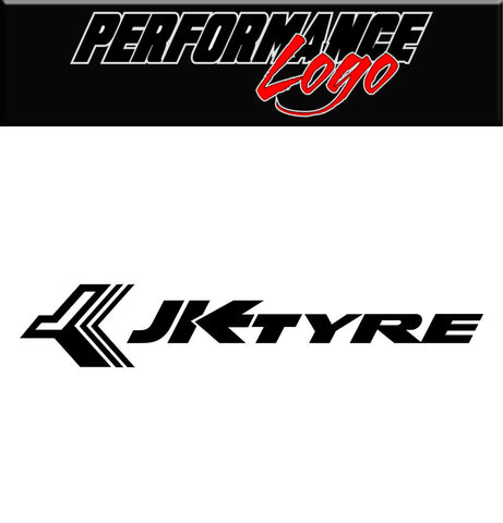 JK Tire decal, performance car decal sticker