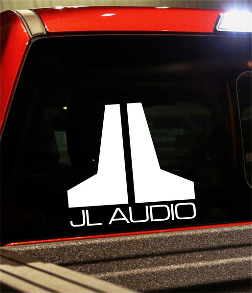 JL Audio decal, sticker, audio decal