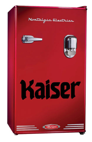 Kaiser Beer decal, beer decal, car decal sticker