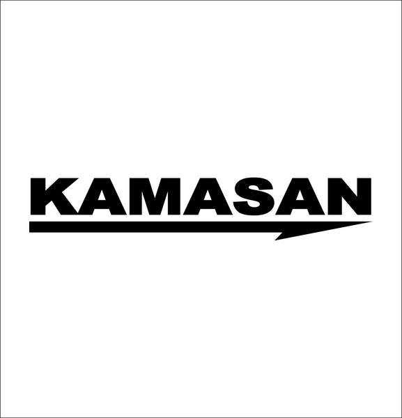Kamasan Hooks decal, sticker, hunting fishing decal