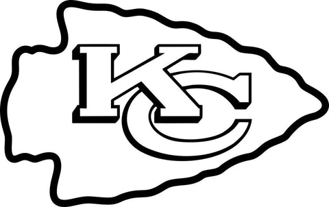 kansas city chiefs car window decal