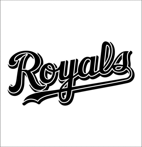 Kansas City Royals decal, car decal sticker