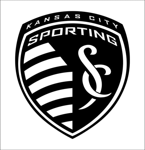 Kansas City Sporting decal, car decal sticker