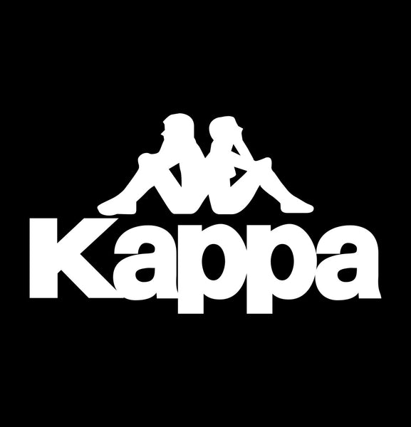 kappa sports  decal, car decal sticker