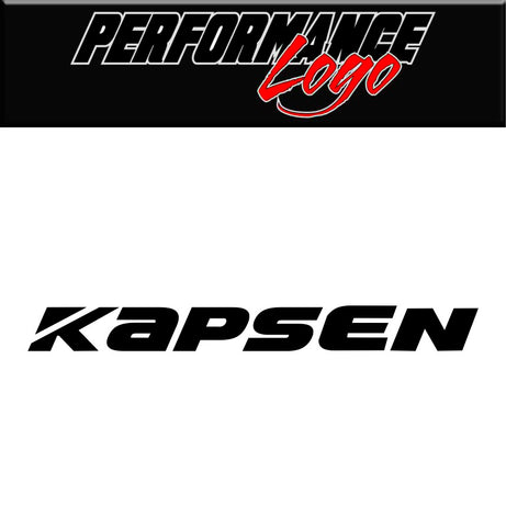 Kapsen Tire decal, performance car decal sticker