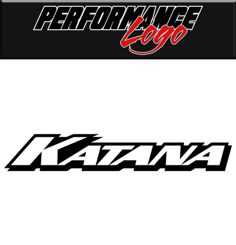 Katana Wheels decal, performance decal, sticker