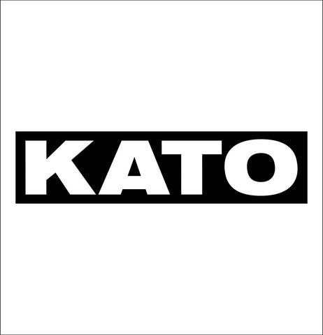 Kato decal, car decal sticker