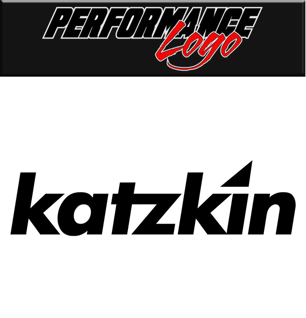 Katzkin Leather decal, performance decal, sticker