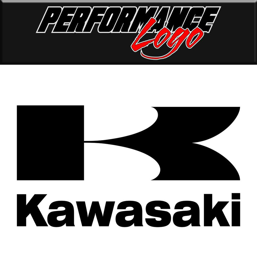 kawasaki performance logo decal racing car decal sticker