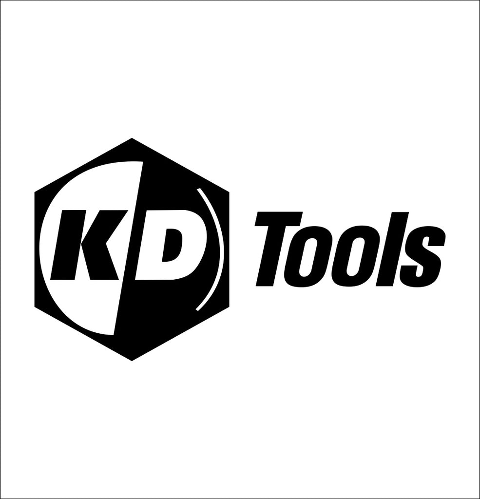 KD Tool decal, car decal sticker