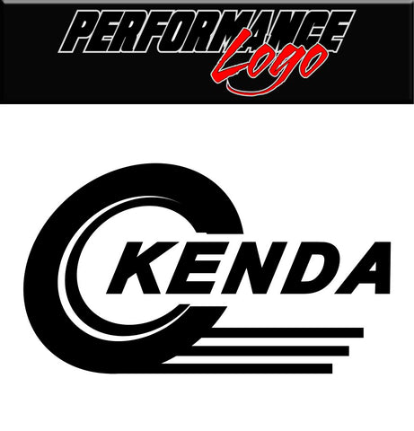 Kenda Tire decal, performance car decal sticker