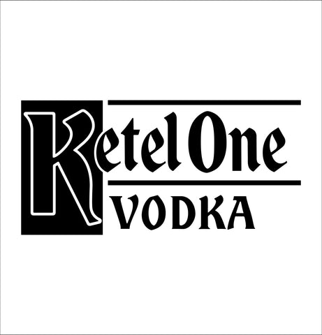 Ketel One decal, vodka decal, car decal, sticker