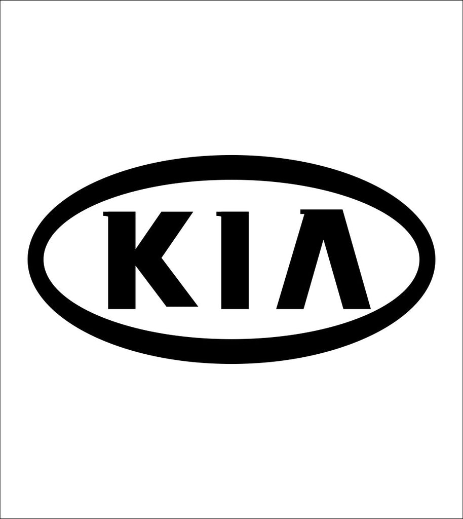 Kia decal, sticker, car decal