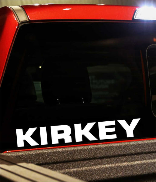 kirkey performance logo decal - North 49 Decals