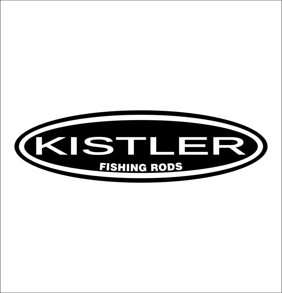 Kistler Rods decal, sticker, hunting fishing decal