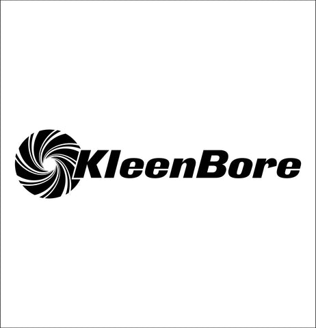 Kleenbore decal, sticker, hunting fishing decal