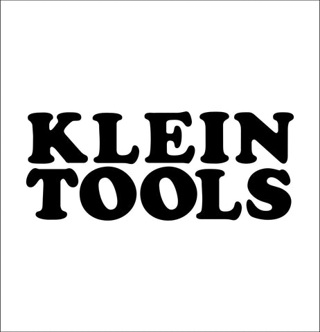 klein tools decal, car decal sticker