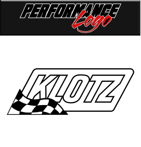 Klotz decal, performance decal, sticker