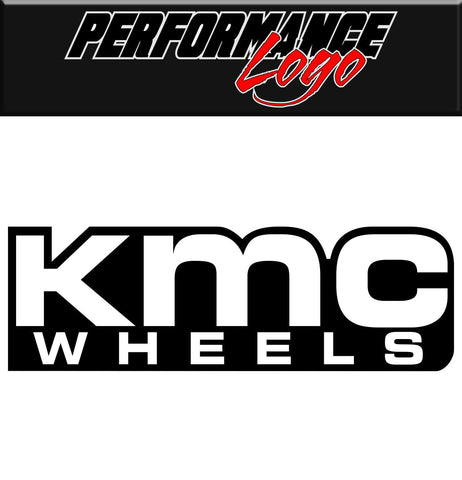 Kmc Wheels decal, performance decal, sticker