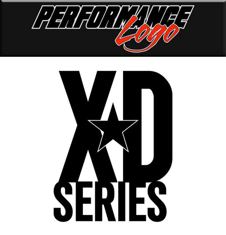 KMC XD Series decal, performance car decal sticker