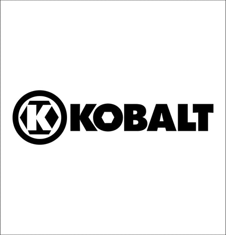 kobalt tools decal, car decal sticker
