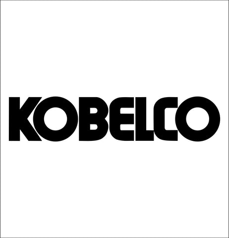 Kobelco decal, car decal sticker