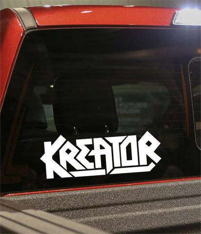 kreator band decal - North 49 Decals