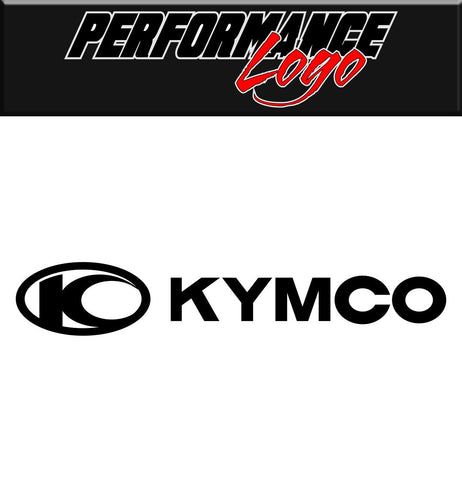 Kymco decal, performance decal, sticker