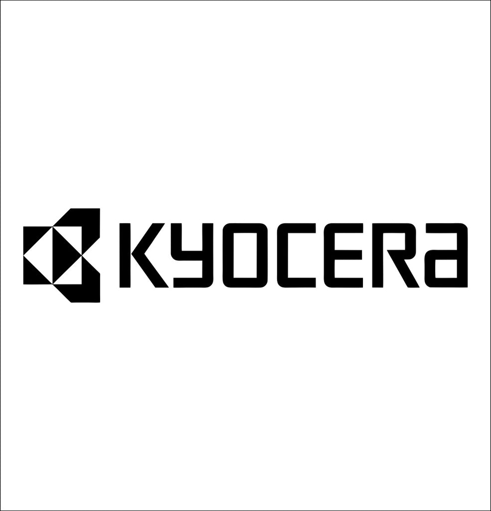 kyocera tools decal, car decal sticker