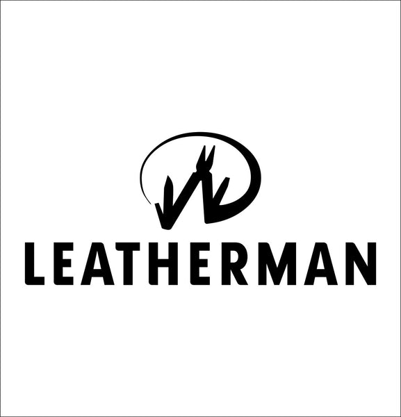 Leatherman decal, sticker, hunting fishing decal