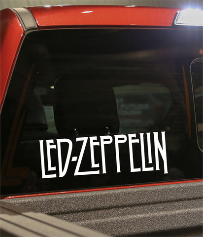 led zeppelin band decal - North 49 Decals