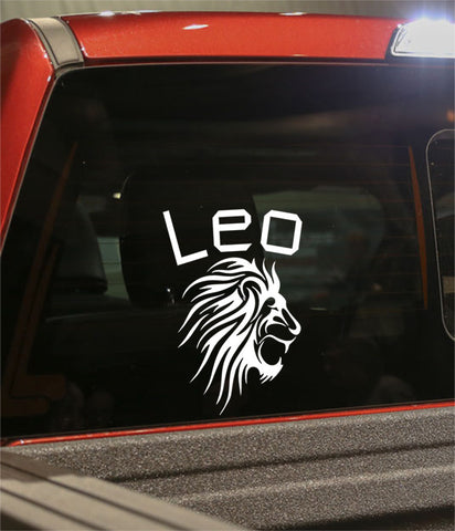 leo 2 zodiac decal - North 49 Decals