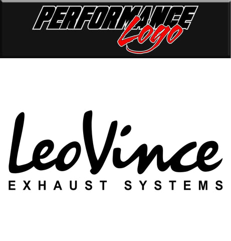 Leo Vince Exhaust decal, performance decal, sticker