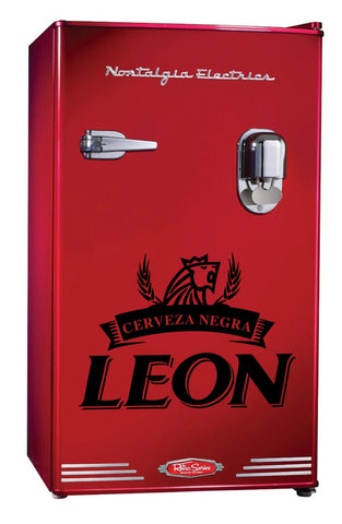 Leon Beer decal, beer decal, car decal sticker