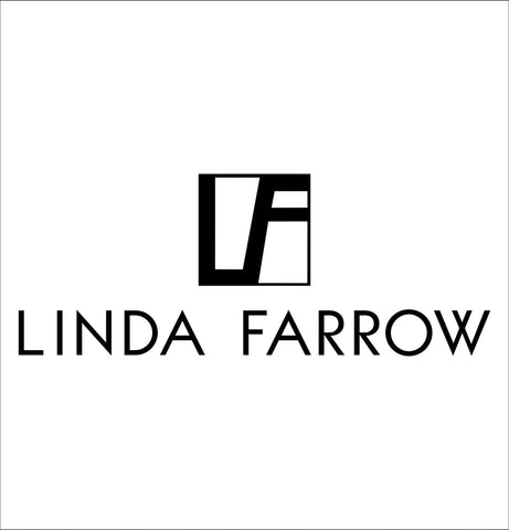 Linda Farrow decal, car decal sticker