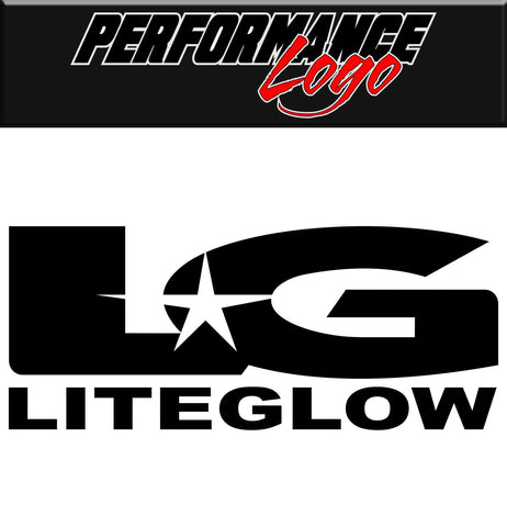 Liteglow decal, performance decal, sticker
